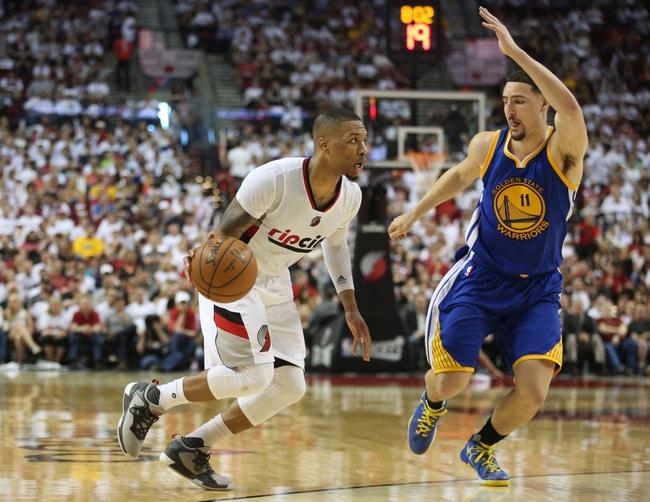 Portland Trail Blazers vs. Golden State Warriors - 5/9/16 NBA Pick, Odds, and Prediction