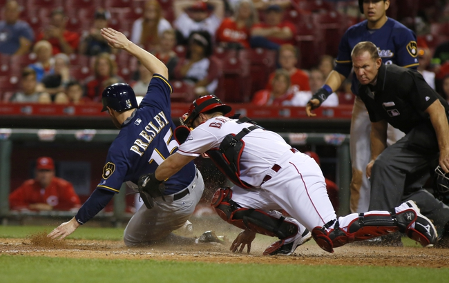 Cincinnati Reds vs. Milwaukee Brewers - 5/8/16 MLB Pick, Odds, and Prediction
