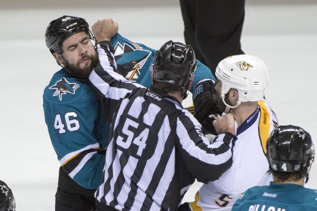 Nashville Predators vs. San Jose Sharks - 5/9/16 NHL Pick, Odds, and Prediction