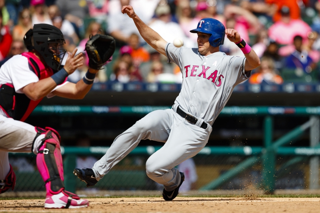 Texas Rangers vs. Detroit Tigers - 8/12/16 MLB Pick, Odds, and Prediction