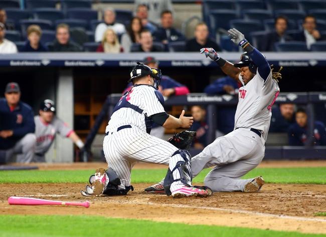 Red Sox at Yankees - 7/15/16 MLB Pick, Odds, and Prediction