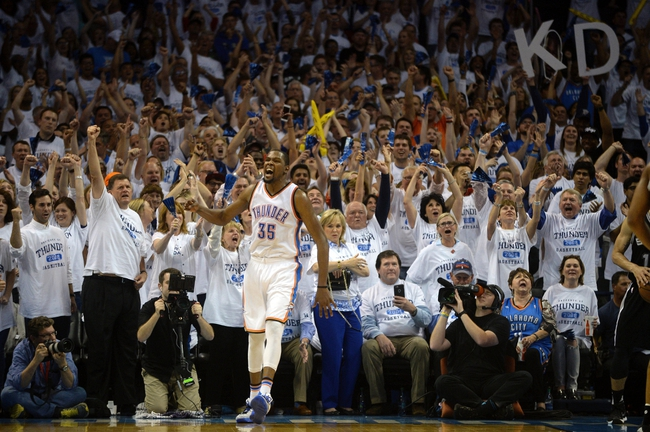 Thunder at Spurs Game 5 - 5/10/16 NBA Pick, Odds, and Prediction