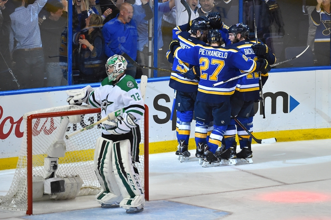 Blues at Stars Game 7 - 5/11/16 NHL Pick, Odds, and Prediction