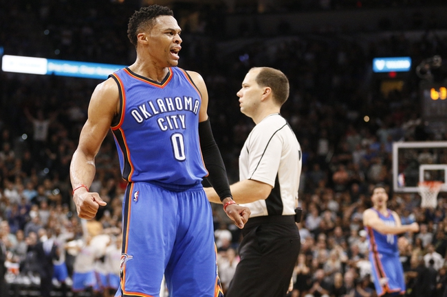 Spurs at Thunder Game 6 - 5/12/16 NBA Pick, Odds, and Prediction