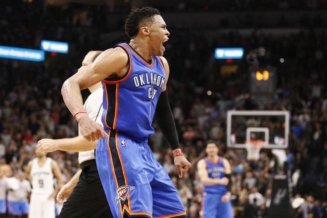 Oklahoma City Thunder vs. San Antonio Spurs - 5/12/16 NBA Pick, Odds, and Prediction