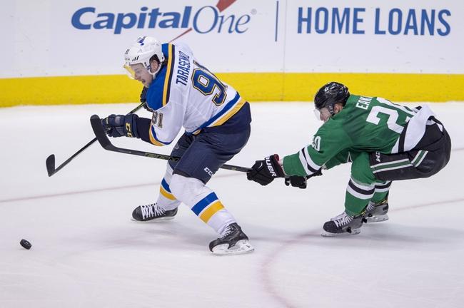 Dallas Stars vs. St. Louis Blues - 11/3/16 NHL Pick, Odds, and Prediction