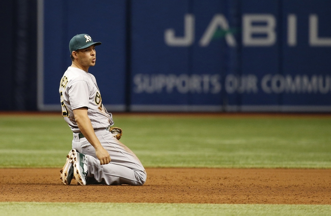 Tampa Bay Rays vs. Oakland Athletics - 5/15/16 MLB Pick, Odds, and Prediction