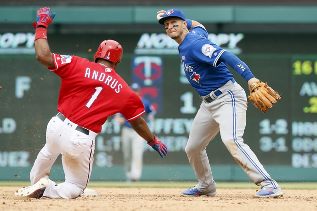 Toronto Blue Jays at Texas Rangers - 10/6/16 MLB Pick, Odds, and Prediction