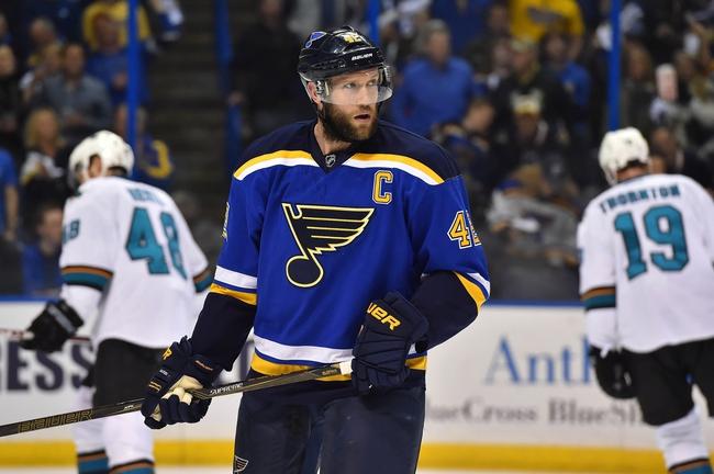 St. Louis Blues vs. San Jose Sharks - 5/17/16 NHL Pick, Odds, and Prediction