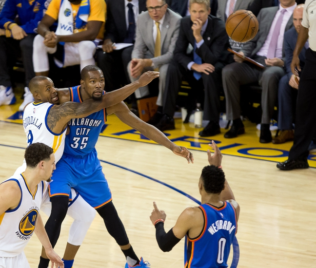 Golden State Warriors vs. Oklahoma City Thunder - 5/18/16 NBA Pick, Odds, and Prediction