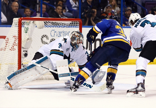 Blues at Sharks Game 3 - 5/19/16 NHL Pick, Odds, and Prediction