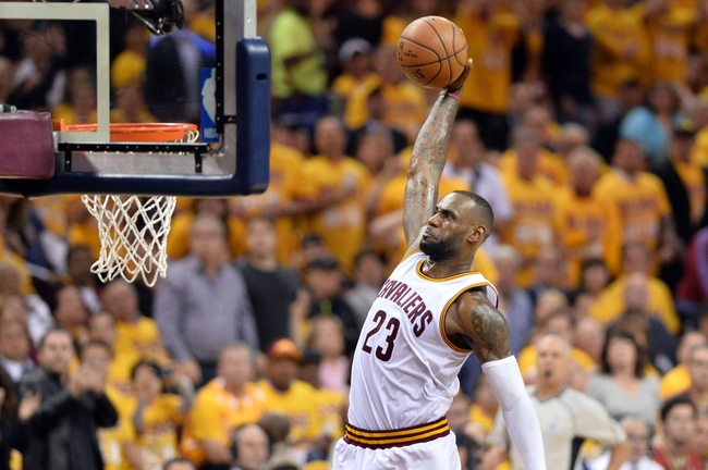 Raptors at Cavaliers Game 2 - 5/19/16 NBA Pick, Odds, and Prediction