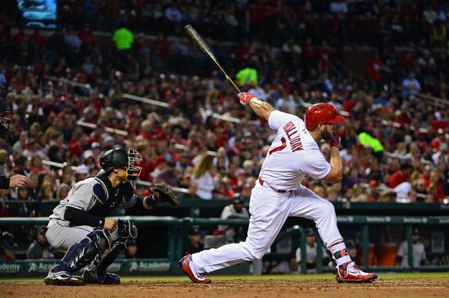 Cardinals vs. Rockies - 5/19/16 MLB Pick, Odds, and Prediction