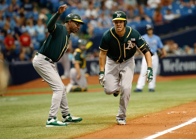 Oakland Athletics vs. Tampa Bay Rays - 7/21/16 MLB Pick, Odds, and Prediction