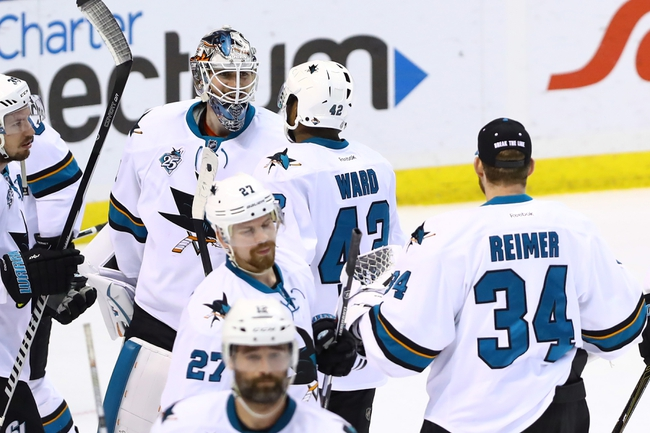 San Jose Sharks vs. St. Louis Blues - 5/25/16 NHL Pick, Odds, and Prediction