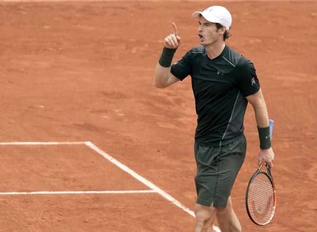 John Isner vs. Andy Murray 2016 French Open Pick, Odds, Prediction