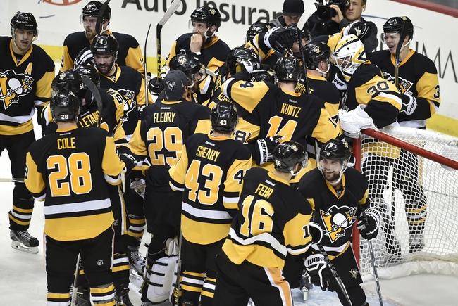 Sharks at Penguins Game 1 - 5/30/16 NHL Pick, Odds, and Prediction