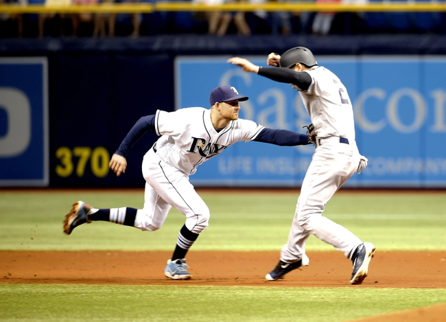 Tampa Bay Rays vs. New York Yankees - 5/28/16 MLB Pick, Odds, and Prediction