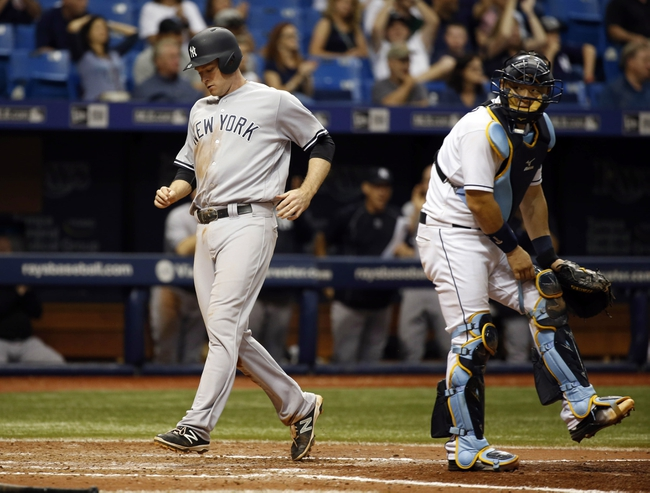 Tampa Bay Rays vs. New York Yankees - 5/29/16 MLB Pick, Odds, and Prediction