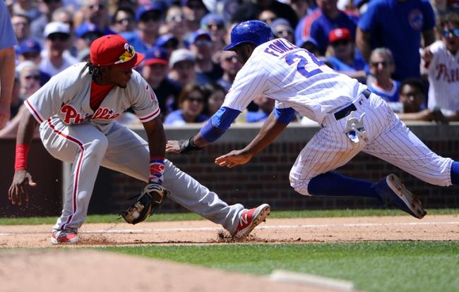 Cubs at Phillies - 6/6/16 MLB Pick, Odds, and Prediction