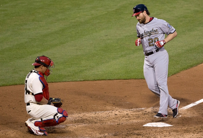 Phillies vs. Nationals - 5/31/16 MLB Pick, Odds, and Prediction