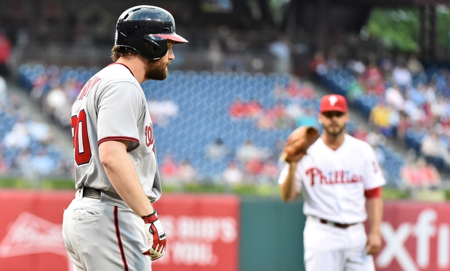 Washington Nationals vs. Philadelphia Phillies - 6/11/16 MLB Pick, Odds, and Prediction