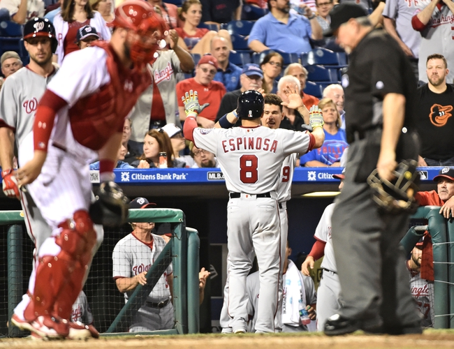 Washington Nationals vs. Philadelphia Phillies - 6/12/16 MLB Pick, Odds, and Prediction