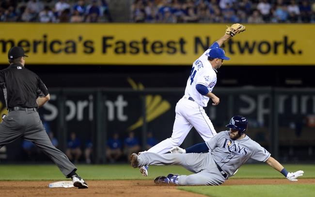 Tampa Bay Rays vs. Kansas City Royals - 8/1/16 MLB Pick, Odds, and Prediction