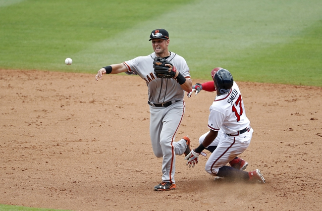 Giants vs. Braves - 8/27/16 MLB Pick, Odds, and Prediction