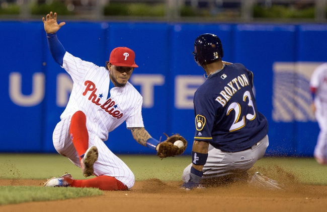 Philadelphia Phillies vs. Milwaukee Brewers - 6/4/16 MLB Pick, Odds, and Prediction