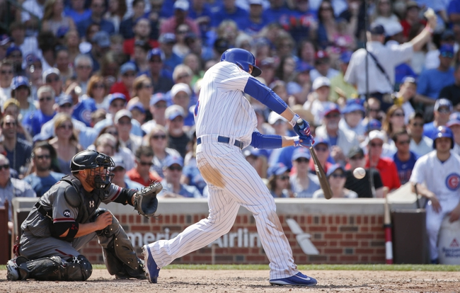 Diamondbacks at Cubs - 6/4/16 MLB Pick, Odds, and Prediction