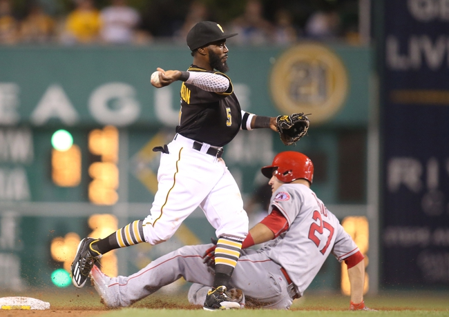 Pittsburgh Pirates vs. Los Angeles Angels - 6/5/16 MLB Pick, Odds, and Prediction