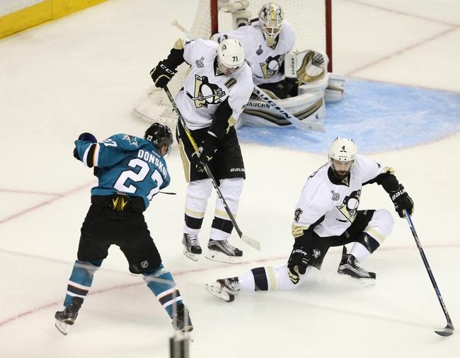 San Jose Sharks vs. Pittsburgh Penguins - 6/6/16 NHL Pick, Odds, and Prediction