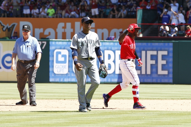 Mariners vs. Rangers - 6/10/16 MLB Pick, Odds, and Prediction