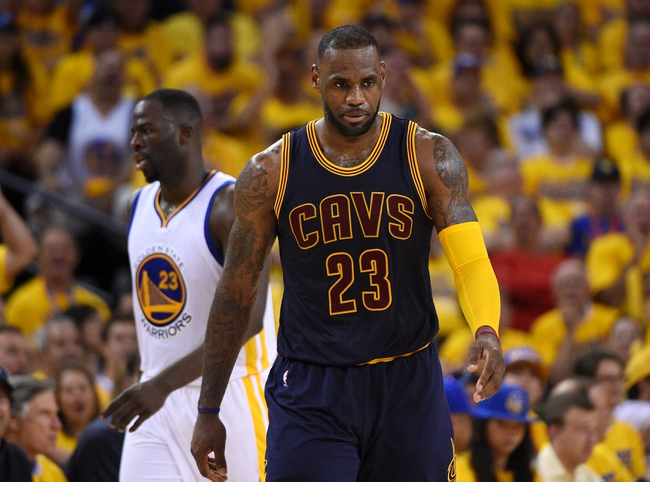 Warriors at Cavaliers Game 3 - 6/8/16 NBA Pick, Odds, and Prediction