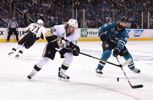 Pittsburgh Penguins vs. San Jose Sharks Game Five - 6/9/16 NHL Pick, Odds, and Prediction