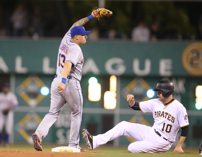 Pittsburgh Pirates vs. New York Mets - 6/8/16 MLB Pick, Odds, and Prediction