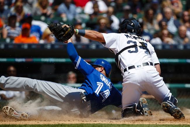 Toronto Blue Jays vs. Detroit Tigers - 7/7/16 MLB Pick, Odds, and Prediction