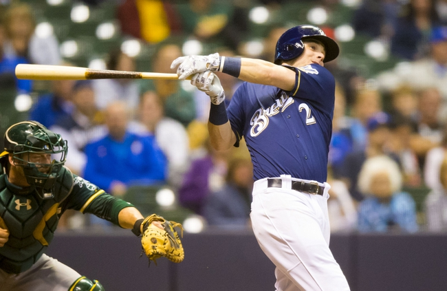 Brewers at Athletics - 6/21/16 MLB Pick, Odds, and Prediction