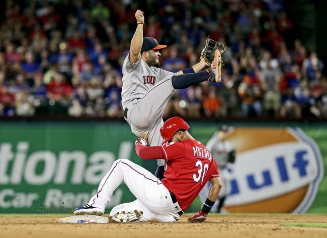Astros vs. Rangers - 8/5/16 MLB Pick, Odds, and Prediction