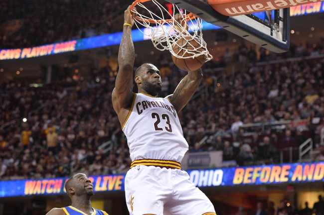 Warriors at Cavaliers Game 4 - 6/10/16 NBA Pick, Odds, and Prediction