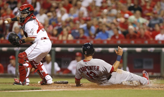 Cincinnati Reds vs. St. Louis Cardinals - 8/2/16 MLB Pick, Odds, and Prediction
