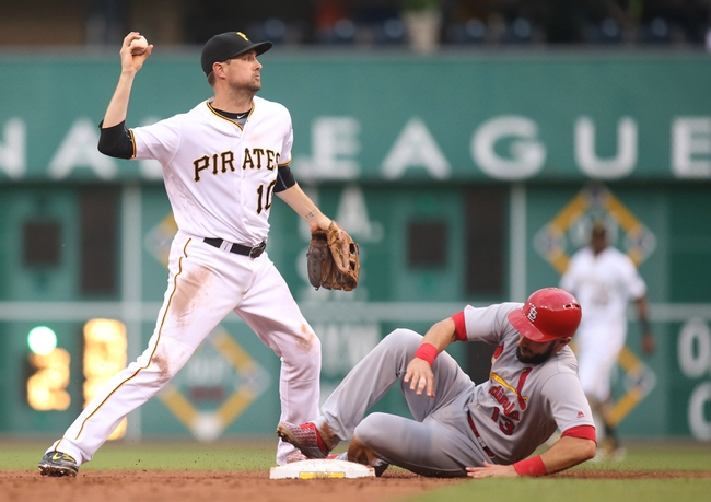 Pittsburgh Pirates vs. St. Louis Cardinals - 6/11/16 MLB Pick, Odds, and Prediction