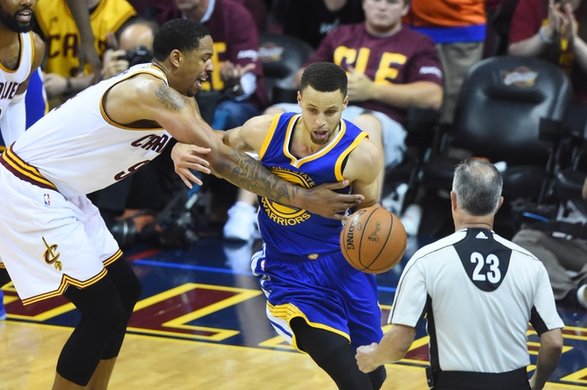 Golden State Warriors vs. Cleveland Cavaliers - 6/13/16 NBA Pick, Odds, and Prediction