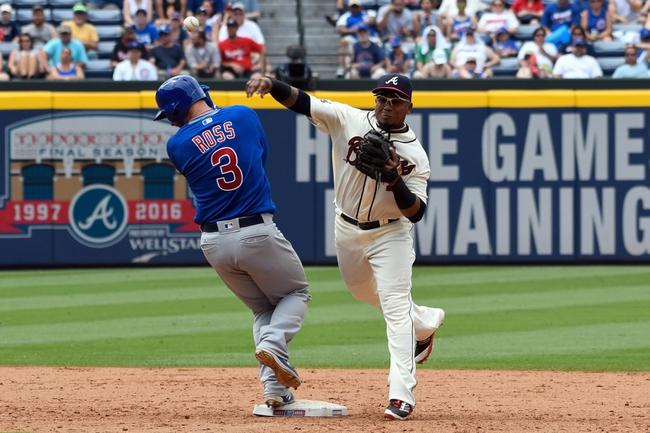 Chicago Cubs vs. Atlanta Braves - 7/7/16 MLB Pick, Odds, and Prediction