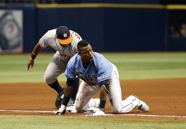 Houston Astros vs. Tampa Bay Rays - 8/26/16 MLB Pick, Odds, and Prediction