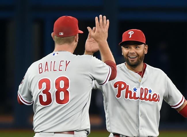 Toronto Blue Jays vs. Philadelphia Phillies - 6/14/16 MLB Pick, Odds, and Prediction