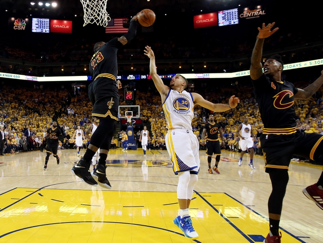 Golden State Warriors at Cleveland Cavaliers Game Six - 6/16/16 NBA Pick, Odds, and Prediction
