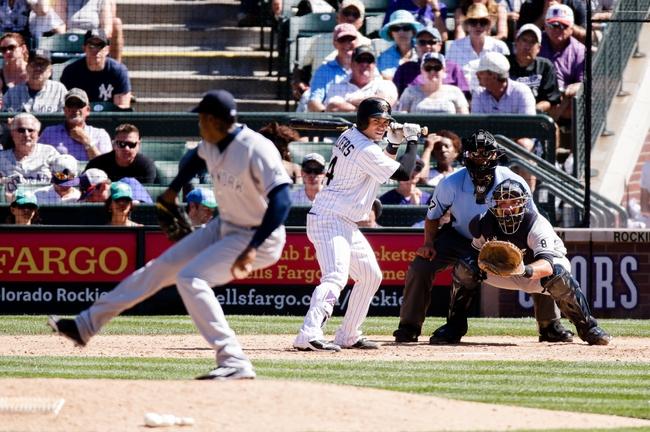 New York Yankees vs. Colorado Rockies - 6/21/16 MLB Pick, Odds, and Prediction