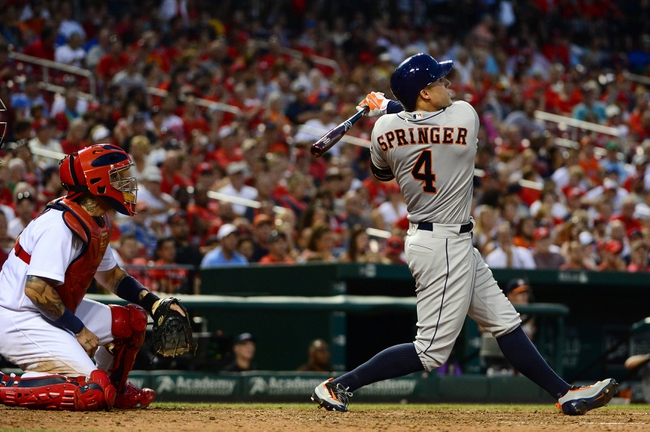 Houston Astros vs. St. Louis Cardinals - 8/16/16 MLB Pick, Odds, and Prediction